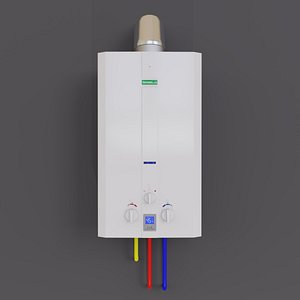 3D gas water heater Termaxi JSD20-W-A1 model