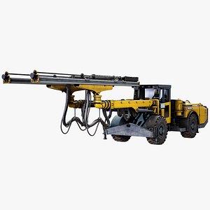 Underground Mobile Drill Rig Atlas Copco E2C model