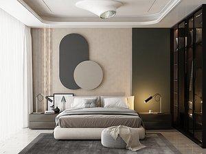Modern Style Bedroom - 532 model