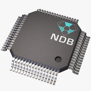 nuclear diamond battery 3D model