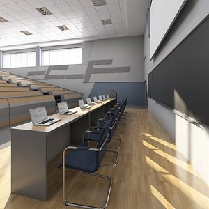 auditorium conference 3D model