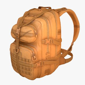 backpack pack 3D model