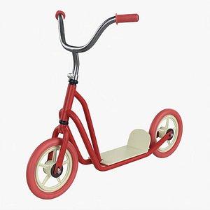 Vintage kick scooter model