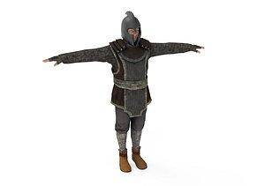 3D model Armor Solider