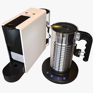 3D model Nespresso Machine Set