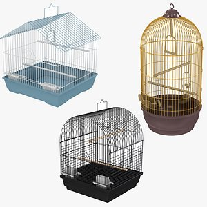 Bird Cage Collection 3D