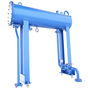 tank pressure gas 3D model