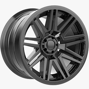 3D model Wheel 2WS