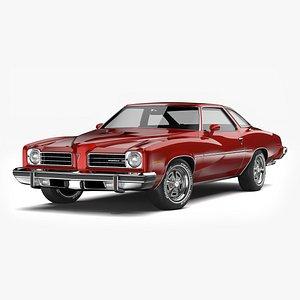 Pontiac LeMans GT 1974 3D model