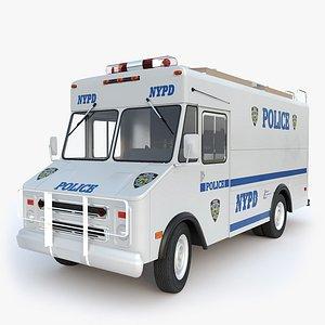 3D model Chevrolet P30 NYPD