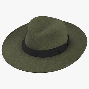 3D Hunting Hat model