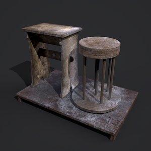 3D model Pottery Wheel Design One