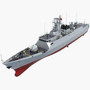 3D chinese navy corvette model