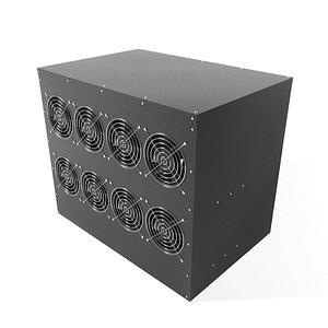 GPU Miner box 3D