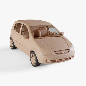 3D model 2006 Hyundai Getz
