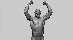 skeletor zbrush anatomy 3D