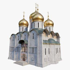 Dormition church Uspensky sobor 3D model