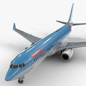 3D Boeing 737-8 MAX NEOS AIR L1341