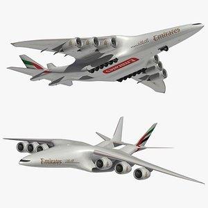 3D HyperCargo Emirates model