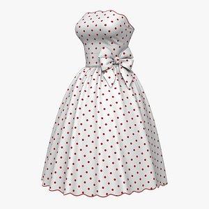 Dress Pea PBR 3D model