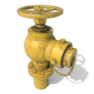 3D hydrant games model