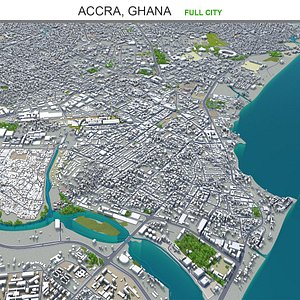 3D Accra Ghana