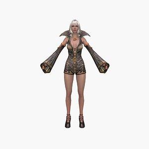 queen fantasy 3D model