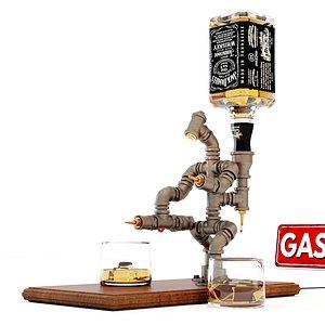 3D Liquor Dispenser LD2 model