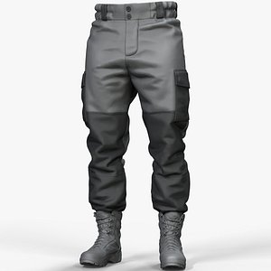 pants gorka uniform 3D model