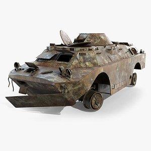 BRDM-2 Burnt model
