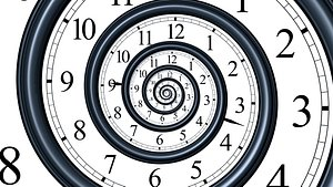 Time spiral animation