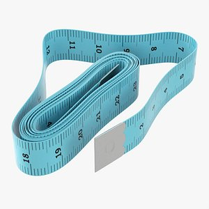 Tailor measuring tape 03 3D