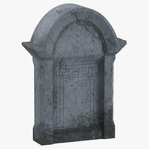 3D tombstone 02