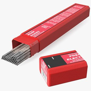 3D Welding Electrodes E7018 5 Lbs Package Open