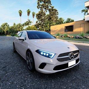 Mercedes-Benz A-Class  Sedan 3D model