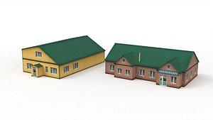 3D model russian environment denlog