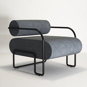 3D 3D Model Ardent Club Chair