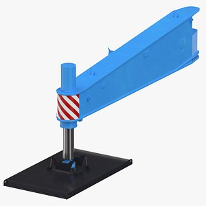 3D crane outrigger large 01