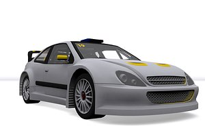 rally car v3 3D model