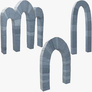 stone arcs model