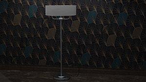 Realistic Lamp Set Blend Files 3D model