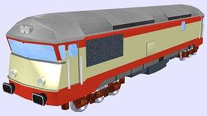 finnish dr13 diesel locomotive 3D
