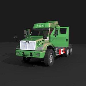 3D model chinese jie fang truck