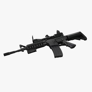AR M4 Barrel  WaltherZF 3-9 model