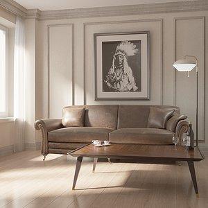 Interior 01 3D