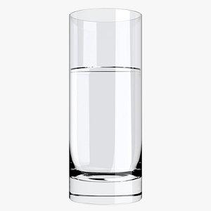 Water Glass 1 3D