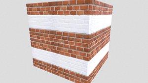 pbr brick walls 3D