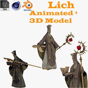 3D Lich King