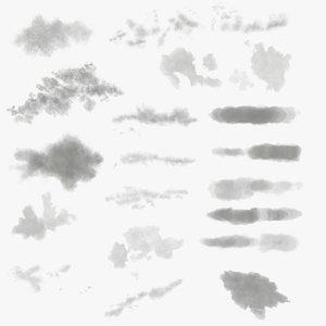 3D Fog Pack  Fog Node Shader for Blender model