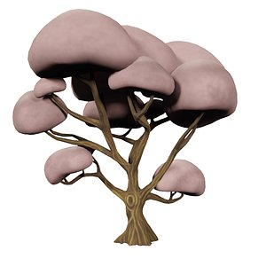 3D Cherry Blossom Tree- Stylized model